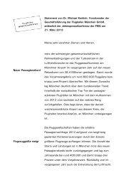 3. Statement von Dr. Michael Kerkloh (pdf) - Flughafen München