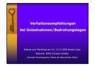 8. Fachtagung Pflege in der Forensik Workshop Winkler