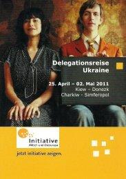 Delegationsreise Ukraine - Initiative Mittel