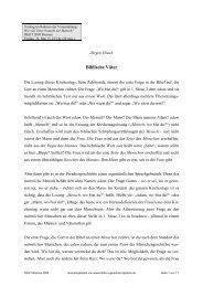 Biblische Väter - Bibel in gerechter Sprache