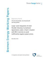 Bremen Energy Working Papers_04_fin - Bremer Energie Institut