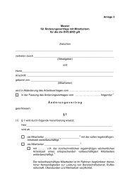Muster Änderungsvertrag DVO.EKD, männlich