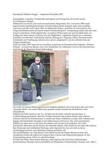 Reiseberichte NEU - argentinafly.com