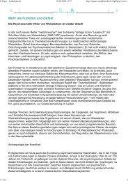 Süddeutsche Zeitung 29. September 2008; Peter ... - Hontschik.de