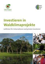 Investieren in Waldklimaprojekte - Global Nature Fund