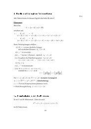 4 Reelle und komplexe Vektorräume - Mathematik