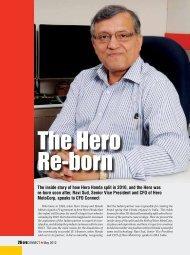 The inside story of how Hero Honda split in 2010 ... - CFO Connect