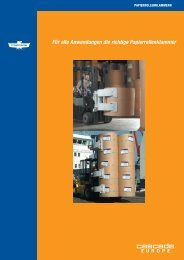 Papierrollenklammer - Cascade Corporation