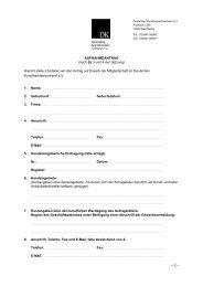 Antragsformular 2012 - Deutschen Kunsthandelsverbandes eV