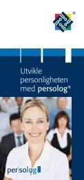 Utvikle personligheten med persolog® - Persolog Norge AS