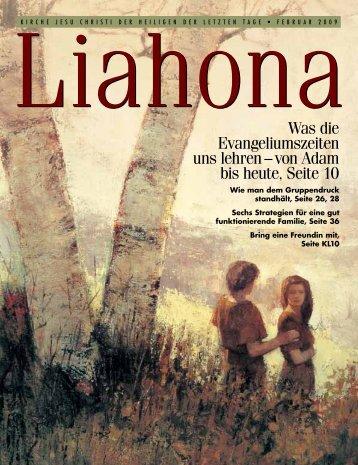 Februar 2009 Liahona