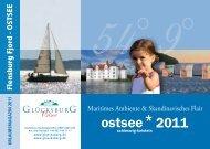 Flensburg Fjord · OSTSEE - Sehnsucht Deutschland