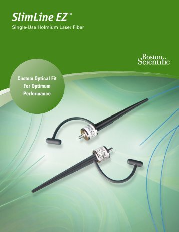 SlimLine EZ™ - Boston Scientific