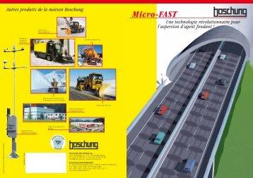 Micro-FAST - Boschung