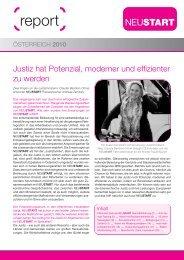 report Österreich 2010 |PDF - Neustart