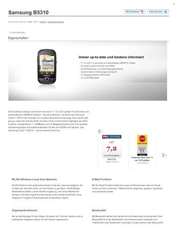 Samsung B5310 - Altehandys.de