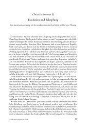 Evolution und Schöpfung - Katholische Kirche Vorarlberg