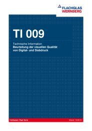 TI 009 Visuelle Qualität von siebbedruckten Gläsern (PDF 1.3 MB)