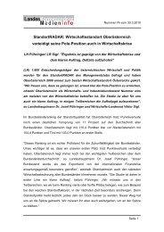 StandortRADAR: Wirtschaftsstandort Oberösterreich verteidigt ... - TMG
