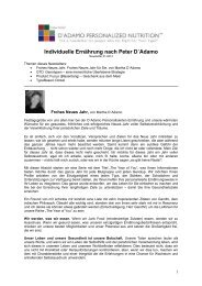 Download Newsletter Januar 2013 - 4 Blutgruppen - Ernährung und ...