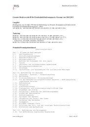Gesamte Rechtsvorschrift für ... - Schienen-Control