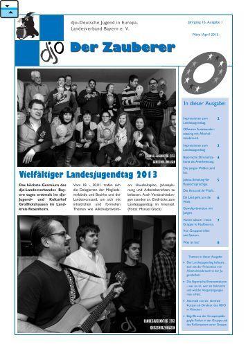 M.rz 2013.pub - djo - Deutsche Jugend in Europa, Landesverband ...