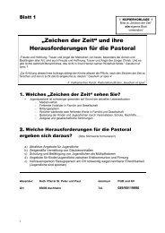 Zeichen der Zeit - Kath-pfarrei-aschheim.de