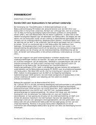 Persbericht CAO bestuurders kinderopvang - NVTK