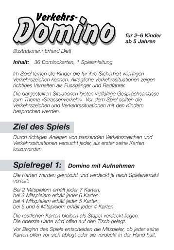 Verkehrsdomino Spielregeln XP (Page 2) - Carlit