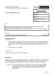 Beschlussvorlage - Vorlage V/0470/2009