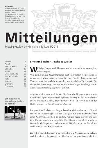 August 2010 - Gemeinde Eglisau