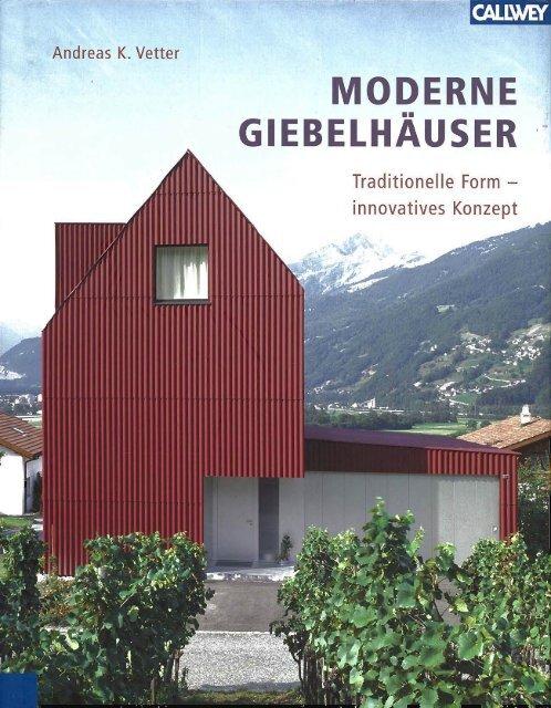"""""""Moderne Giebelhäuser"""" von Andreas K. Vetter - Architektur.terminal"""