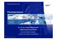 4. 1 Technische Plasmaprozesse