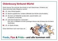 Oldenbourg Verbund-Würfel Fredo, Fips & Frida – und alle kommen ...