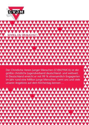 Flyer Kirchentag 2013.indd - CVJM-Blog