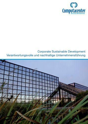 Corporate Sustainable Development ... - Computacenter