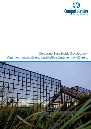 Corporate Sustainable Development ... - Computacenter