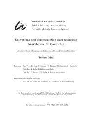 Diplomarbeit: Entwicklung und Implementation einer unscharfen ...