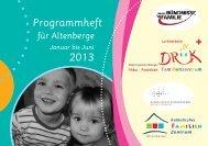 Programmheft 2013