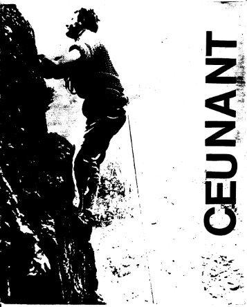 December 1966 - Ceunant Mountaineering Club