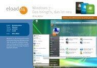 Das ist Windows 7 - Webseiten