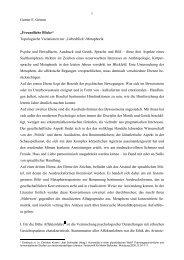 """1 Gunter E. Grimm """"Freundliche Blicke ... - bei DuEPublico"""