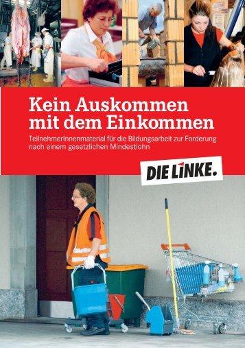 Mindestlöhne - Werner Dreibus