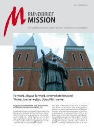 Nr. 100 - März 2009 - Arbeitsstelle Weltkirche
