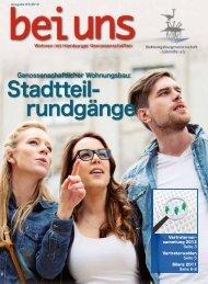Stadtteil- rundgänge - Wohnungsbaugenossenschaft Süderelbe eG
