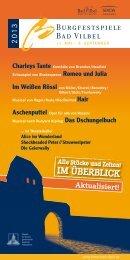 Aktualisiert! - Kultur Bad Vilbel