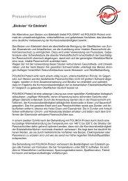 Download Pressemitteilung - POLIGRAT GmbH