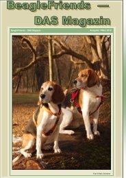 Ausgabe 1 März 2010 BeagleFriends - DAS Magazin