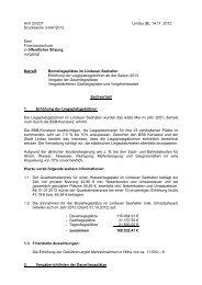 Vorlage TOP 5 Gebührenerhöhung Liegeplätze - Lindau