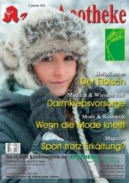 Apotheken-Kundenzeitschrift - Neue Medien